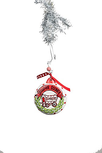 Glory Haus Oklahoma Puff Ornament, Multicolor