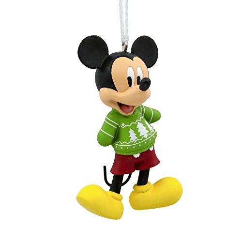 Hallmark Christmas Ornament Disney Mickey Mouse Sweater, Mickey Christmas Sweater