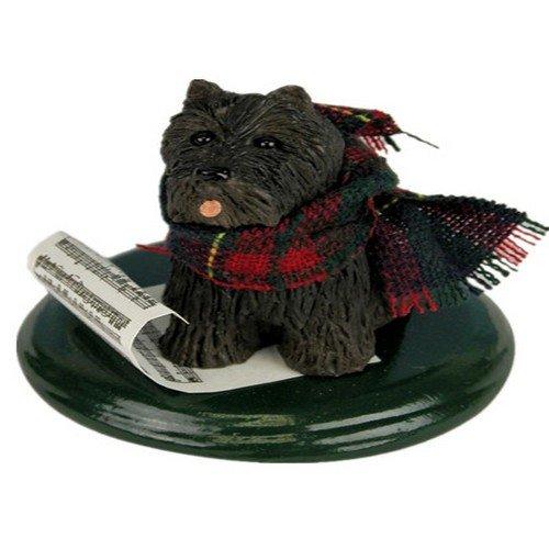 Byers' Choice Scottish Terrier Caroling Dog