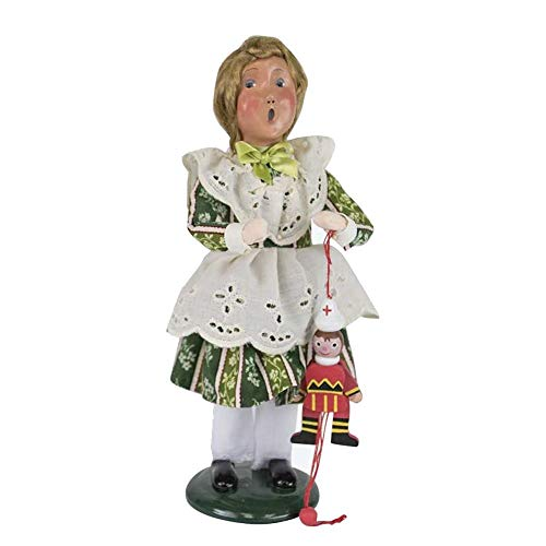 Byers' Choice Girl with Ornaments #ZBC84