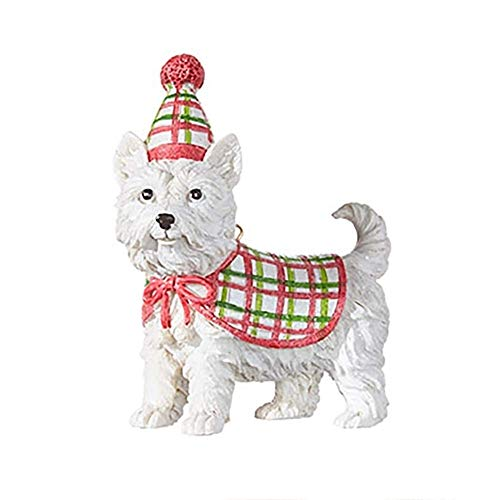 RAZ Imports Dog Ornament — West Highland Terrier Christmas Ornament