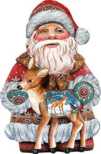 G. Debrekht Dearest Friend Santa Deco Ornament