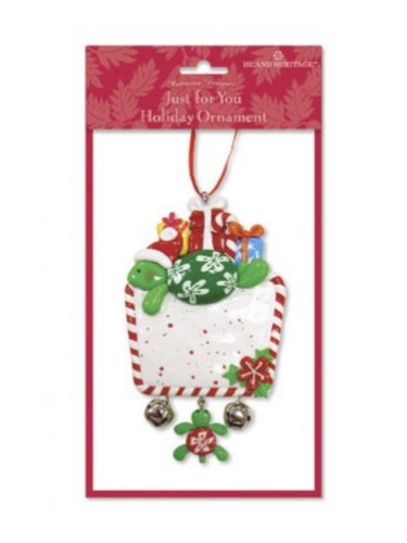 Hawaiian Island Honu/Turtle Just for You Holiday Ornament