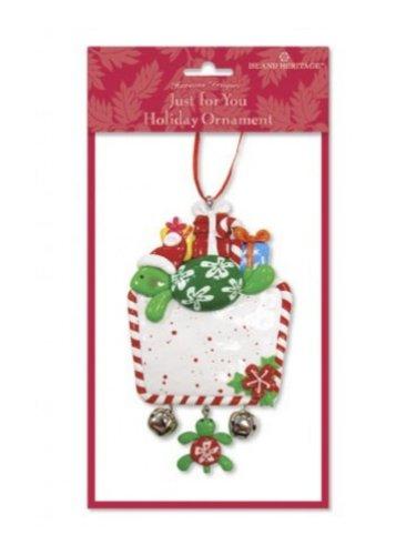 Hawaiian Island Honu/Turtle Just for You Holiday Ornament