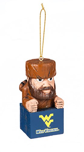 Team Sports America West Virginia Team Mascot Ornament