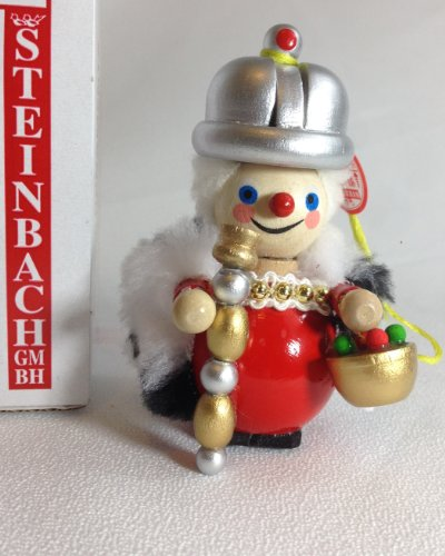 Steinbach Hand Made German Wooden Christmas Ornament Nutcracker Queen Royal