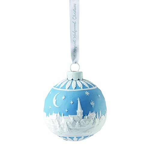 Wedgwood 2018 Annual Holiday Ornament The Christmas Sky at Night, Blue