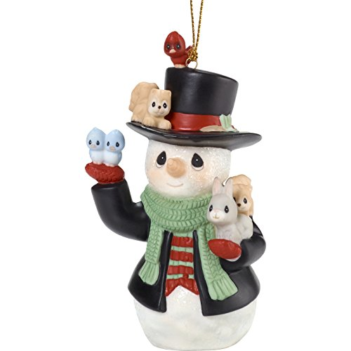 "Precious Moments"" Christmas Cheer for All Snowman Ornament, Multicolor"