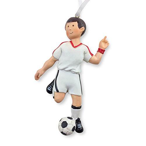 Soccer Christmas Ornament | Soccer Ornaments by ChalkTalk SPORTS | Guy
