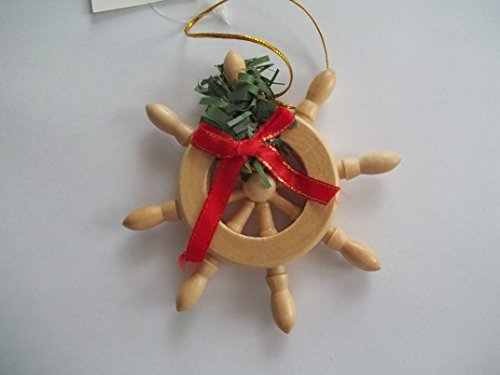 Ships Wheel Christmas Ornament by Beachcombers