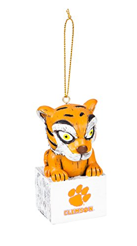 Team Sports America Clemson Team Mascot Ornament