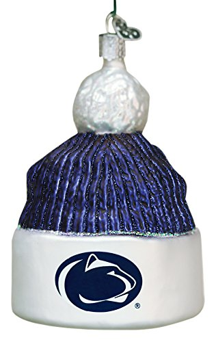Old World Christmas Ornaments: Penn State Beanie Glass Blown Ornaments for Christmas Tree