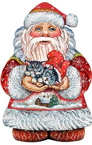 G. Debrekht Perfect Pair Santa Deco Ornament