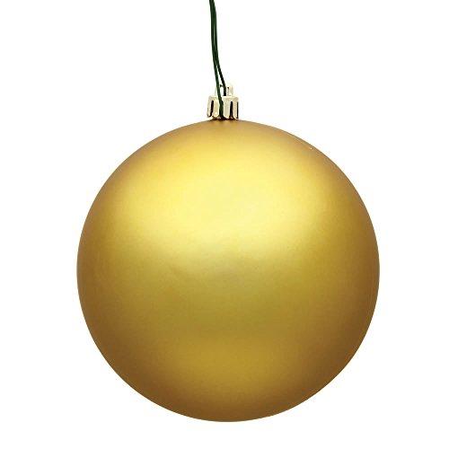 Vickerman 1575″ Gold Matte Ball Ornament