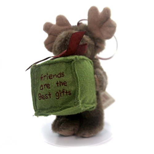 Boyds Bears Plush BEST GIFTS ORNAMENT 562716 Moose Christmas New