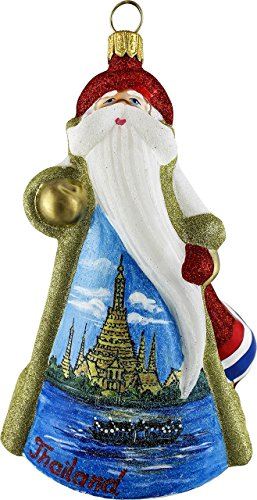 Joy To The World Glitterazzi Thailand Santa
