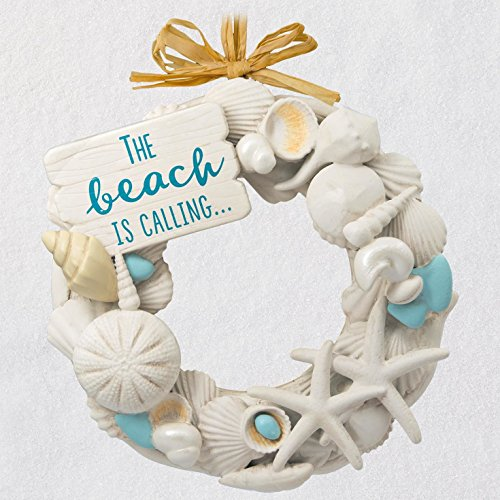 Hallmark Keepsake Christmas Ornament 2018 Year Dated, A Day at The Beach