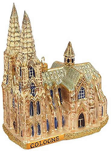 Pinnacle Peak Trading Company Cologne Cathedral Germany Polish Glass Christmas Ornament Travel Decoration