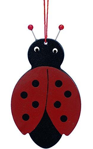 """Alexander Taron Importer 11-0804 – Christian Ulbricht Ornament – Flat Ladybug – 3.5″"""" H x 2″"""" W x .25″"""" D"""