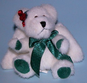 Boyds Plush Ornament Charity Angelbeary Angel Ornament