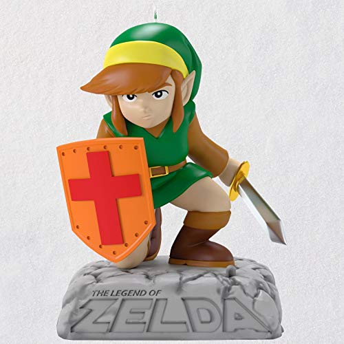 Hallmark Keepsake Christmas Ornament 2018 Year Dated, Nintendo The Legend of Zelda Link With Sound