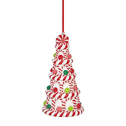 RAZ Imports Candy Cane Christmas Tree Ornament