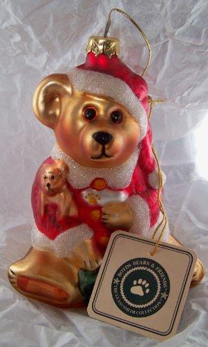 "Boyds Glass Smith ""Santa Claus"" Ornament"