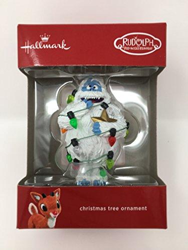 Christmas Ornament Hallmark Rudolph Abominable Snowman 2017
