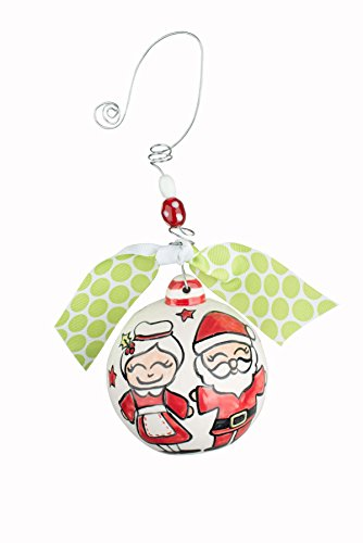 Glory Haus 20100113 Holly Jolly Christmas Ball Ornament, Multicolor