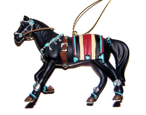 Enesco The Trail of Painted Ponies, Squash Blossom, Horse Collectable Christmas Tree Ornament