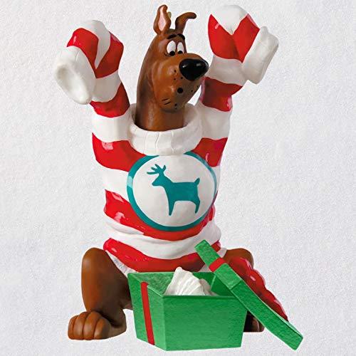 Hallmark Keepsake Christmas Ornament 2018 Year Dated, Scooby Doo An Oversize Surprise, Scooby-Doo