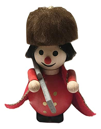 Steinbach Royal Guard Beefeater Soldier Wooden Holiday Ornament