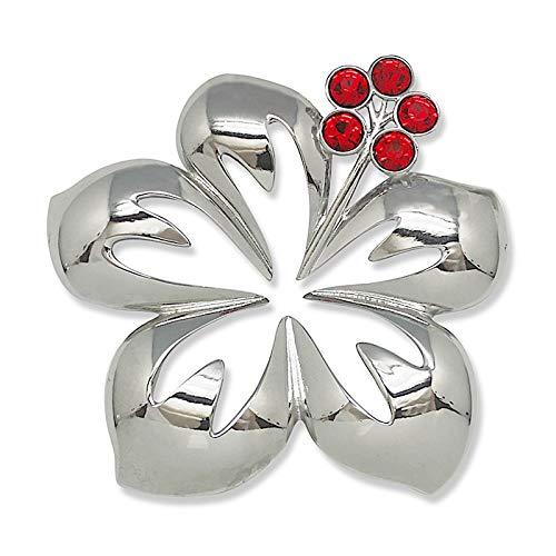 Island Heritage Jewel Metal Hawaiian Christmas Ornament – Hibiscus