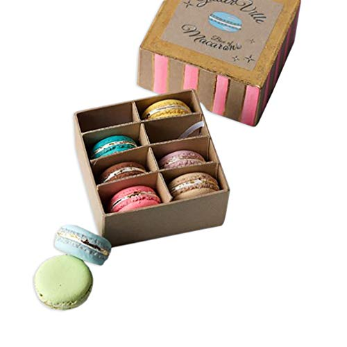 180 Degrees Set of 8 Colorful Macaroon Medley Gift Boxed Ornament Set, 1.75 Inch