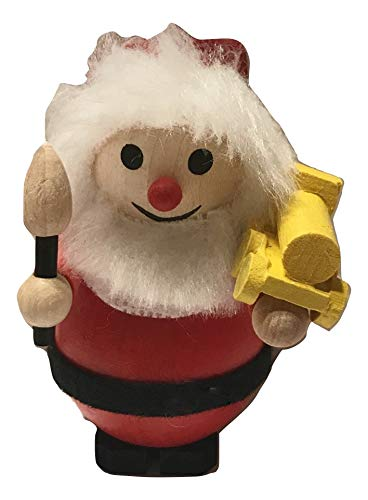 Steinbach Santa Toy Maker Wooden Holiday Ornament