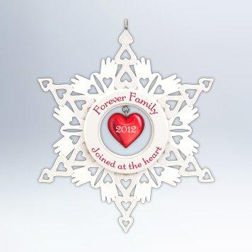 Hallmark 2012 Keepsake Ornament QXG4774 Forever Family