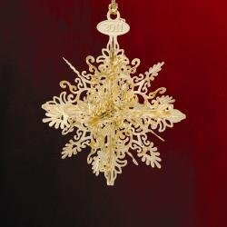 Baldwin Radiant Snowflake Ornament