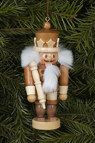 Tree ornaments Tree ornament King natural – 10,5cm / 4 inch – Christian Ulbricht