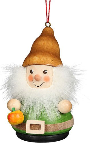 Christian Ulbricht Tree Ornament Teeter Man Dwarf Apple – 8 cm / 3.1 inch