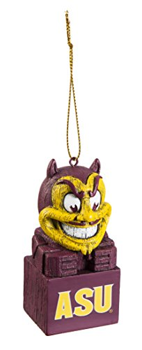 Team Sports America Arizona State University Team Tiki Totem Mascot Ornament