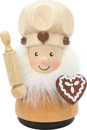 Small Figures & Ornaments Teeter Man Confectioner Natural – 8,0cm / 3.1inch – Christian Ulbricht
