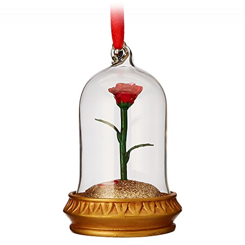 Disney Enchanted Rose Light-up Sketchbook Ornament – Beauty and The Beast465068302891