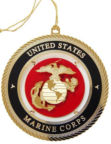 Baldwin Marine Corps Ornament
