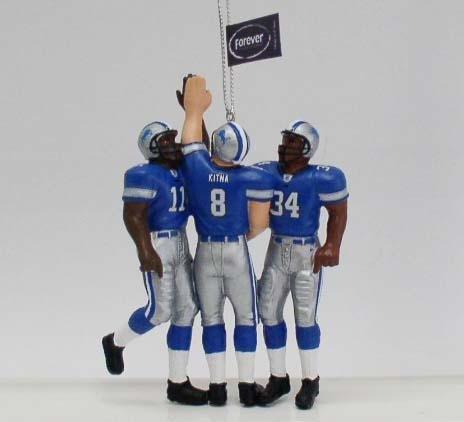 Forever Collectibles Detroit Lions Team Celebration Ornament