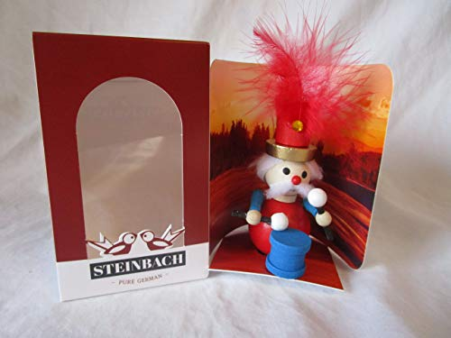Steinbach Gm Bh Christmas Decorations,Gifts and Ornaments Handmade in Germany Wooden 4″ 12 Drummers Drumming individual