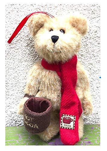 Boyd's Bears Christmas Ornament. Bear with Cocoa