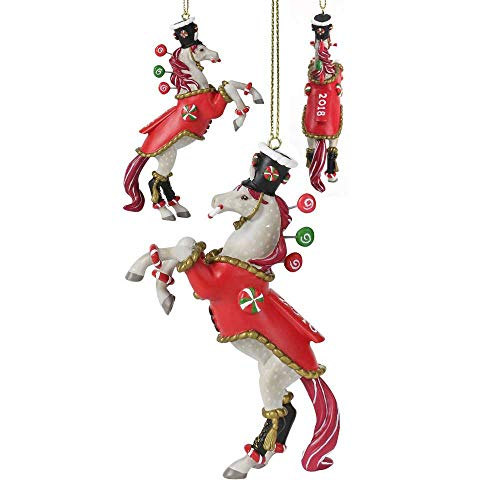 Trail of Painted Ponies 2018 Dillard's Exclusive Nutcracker Sweet 2.75″ Christmas Holiday Ornament in Box