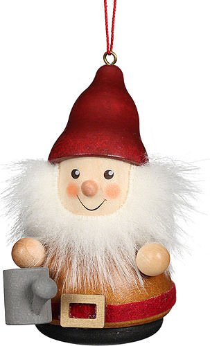 Christian Ulbricht Tree Ornament Teeter Man Dwarf Watering Can – 8 cm / 3.1 inch