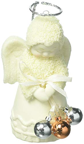 "Department 56 Snowbabies ""Angel of Christmas"" Porcelain Ornament, 3.19"""