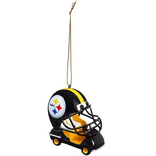 Team Sports America Pittsburgh Steelers Vintage Field Cart Team Ornament, Set of 4